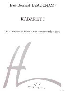 Kabarett - Jean-Bernard Beauchamp - Partition - laflutedepan.com