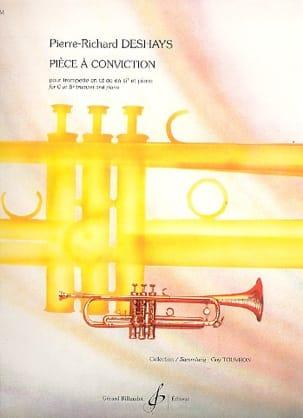 Pièce A Conviction Pierre-Richard Deshays Partition laflutedepan