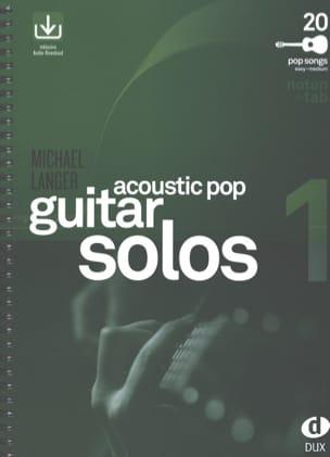 Acoustic Pop Guitar Solos - Volume 1 Partition laflutedepan
