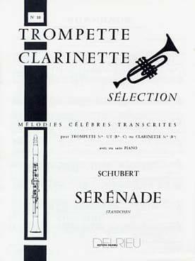Sérénade - N° 10 SCHUBERT Partition Trompette - laflutedepan