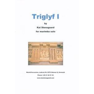 Triglyf I Kai Stensgaard Partition Marimba - laflutedepan