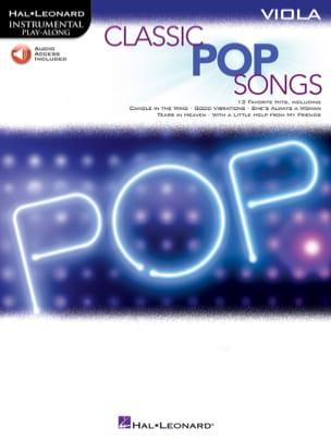 Classic Pop Songs - Partition - Alto - laflutedepan.com