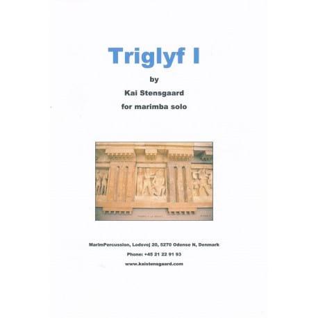 Triglyf I - Kai Stensgaard - Partition - Marimba - laflutedepan.com