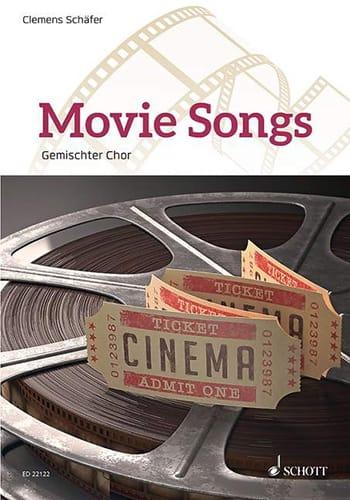 Movie Songs - Pour choeur - Partition - Chœur - laflutedepan.com