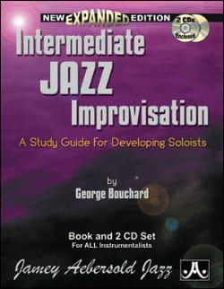 Intermediate Jazz Improvisation METHODE AEBERSOLD laflutedepan