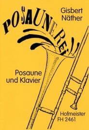 Posaunerei - Gisbert Näther - Partition - Trombone - laflutedepan.com