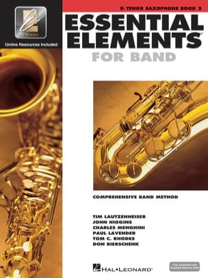 Essential Elements for Band - Book 2 - Tenor Sax - laflutedepan.com
