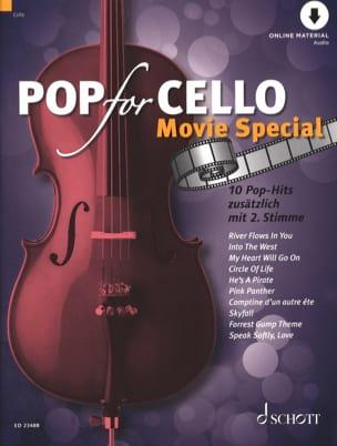 - Pop for Cello - Movie Special - Partition - di-arezzo.fr