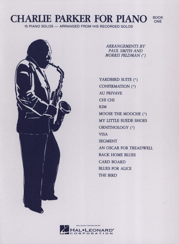 Charlie Parker For Piano Volume 1 - Charlie Parker - laflutedepan.com