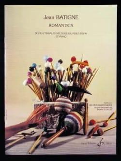 Romantica Jean Batigne Partition Timbales - laflutedepan