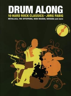Drum Along - 10 Hard Rock Classics Partition Batterie - laflutedepan