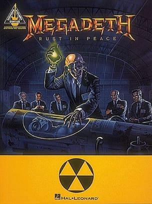 Rust in Peace Megadeth Partition Pop / Rock - laflutedepan