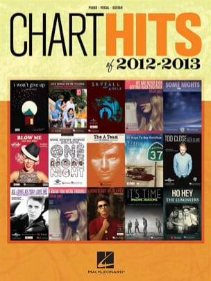 Chart Hits of 2012 - 2013 Partition Pop / Rock - laflutedepan