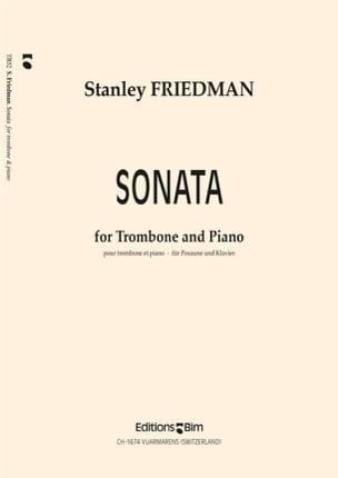 Sonata Stanley Friedman Partition Trombone - laflutedepan