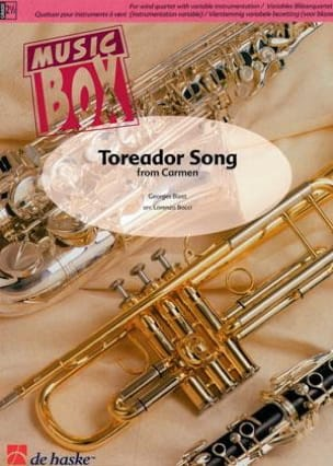 Toreador song from carmen - music box BIZET Partition laflutedepan