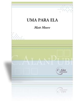 Uma Para Ela - Matt Moore - Partition - Marimba - laflutedepan.com