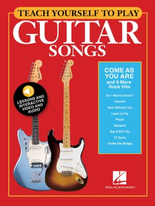 "Teach Yourself to Play Guitar Songs - ""Come As You Are"" & 9 More Rock Hits - laflutedepan.com"
