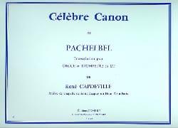 Célèbre Canon PACHELBEL Partition Trompette - laflutedepan
