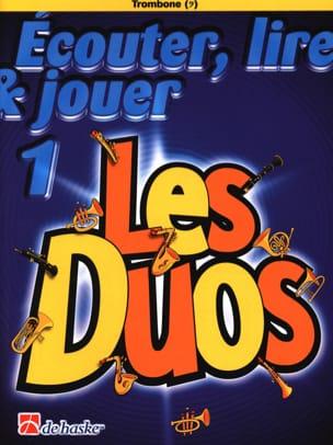 Ecouter Lire et Jouer - Les duos Volume 1 - 2 Trombones laflutedepan