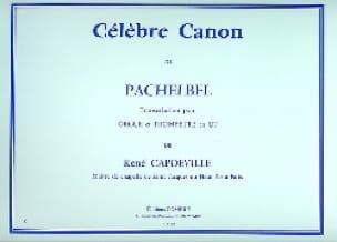 Célèbre Canon - PACHELBEL - Partition - Trompette - laflutedepan.com