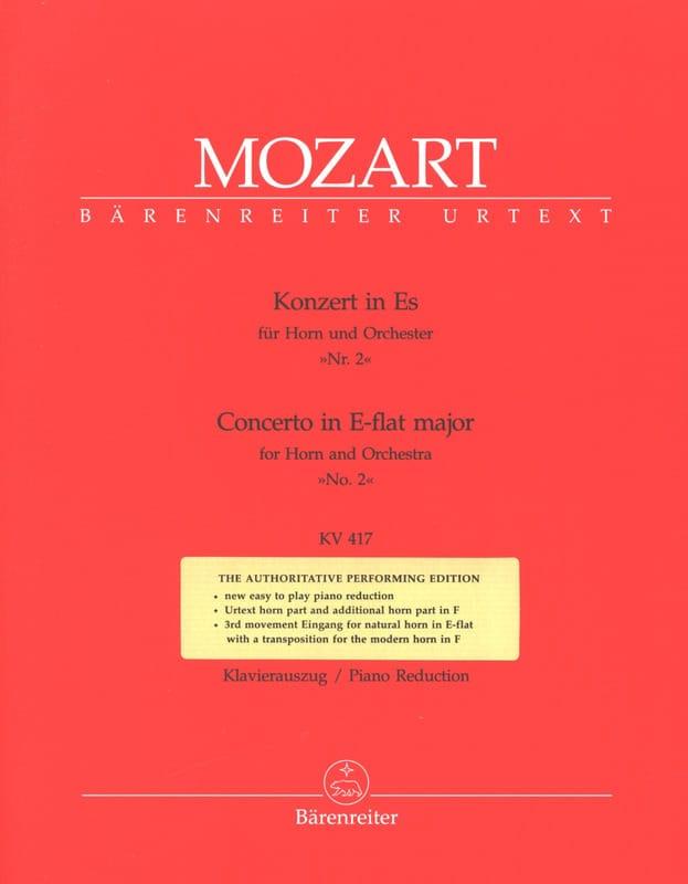 Concerto N° 2 - Cor - MOZART - Partition - Cor - laflutedepan.com