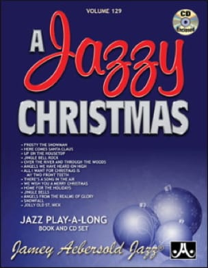 Volume 129 - A Jazzy Christmas - METHODE AEBERSOLD - laflutedepan.com