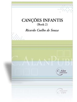 Canções Infantis - Book 2 de Souza Ricardo Coelho laflutedepan