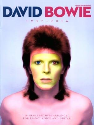 David Bowie 1947 - 2016 David Bowie Partition laflutedepan
