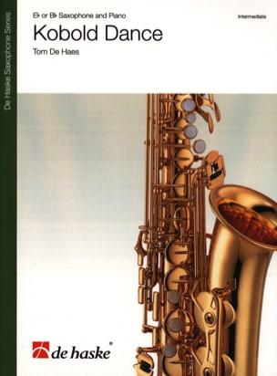 Kobold Dance Tom De Haes Partition Saxophone - laflutedepan