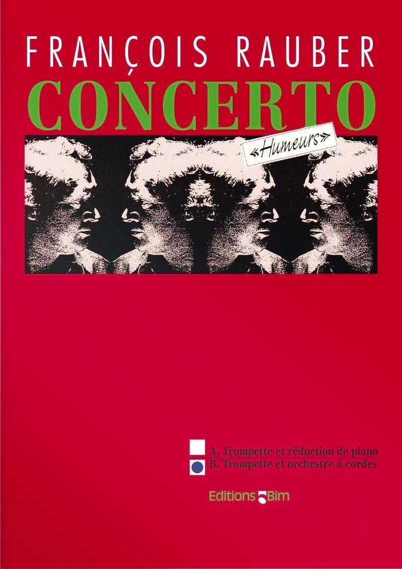 Concerto Humeurs - François Rauber - Partition - laflutedepan.com