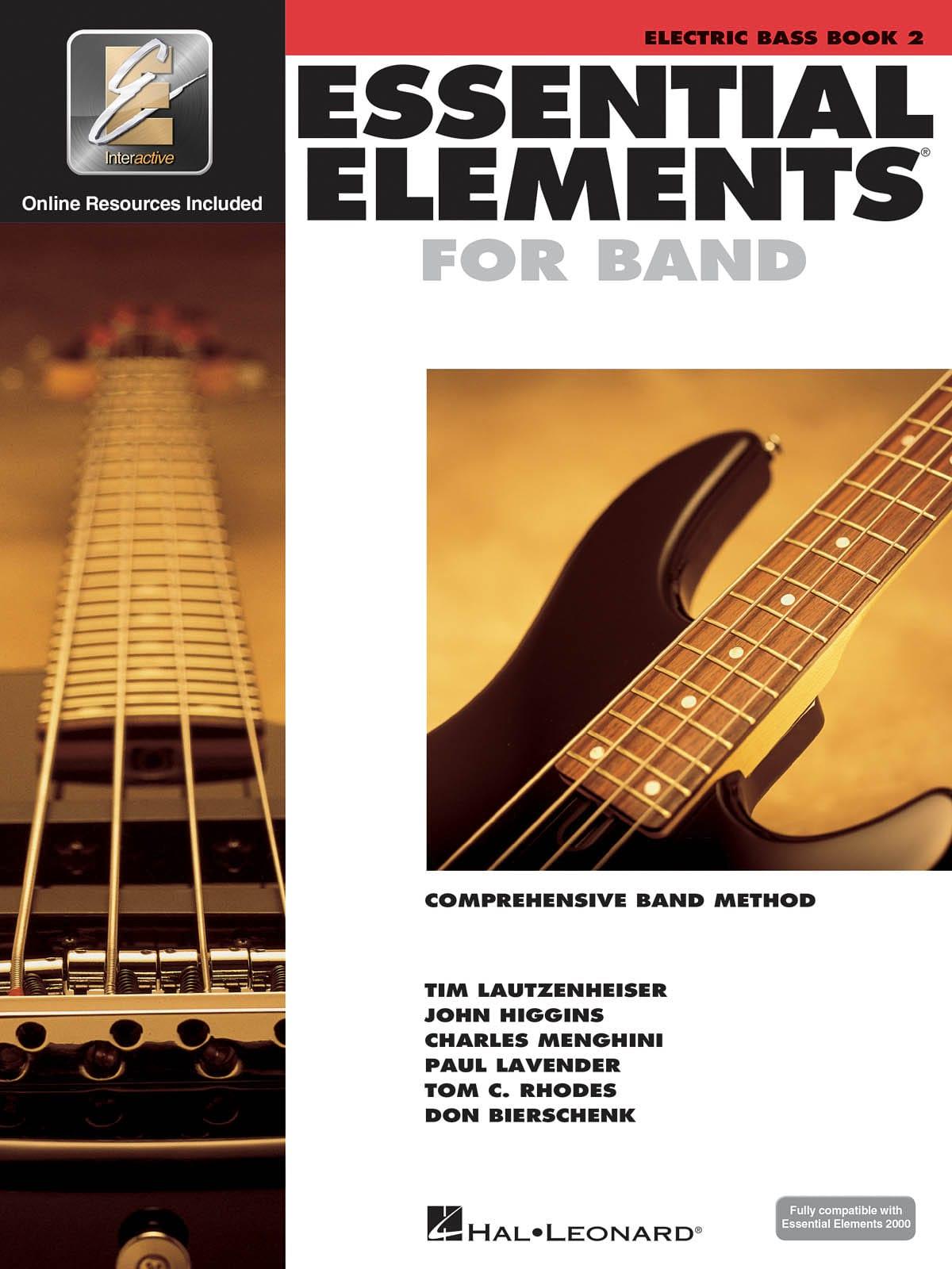 Essential Elements for Band - Book 2 - Bass Guitar - laflutedepan.com