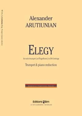 Elegy Alexander Arutiunian Partition Trompette - laflutedepan
