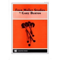Four Mallet Studies Gary Burton Partition Xylophone - laflutedepan