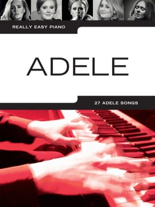 Really Easy Piano - Adele Adele Partition Pop / Rock - laflutedepan