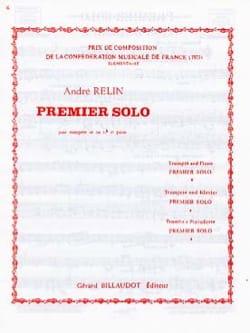 Premier Solo André Relin Partition Trompette - laflutedepan