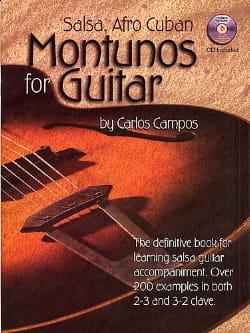 Carlos Campos - Salsa, Afro-Kubaner Montunos für Gitarre - Partition - di-arezzo.de