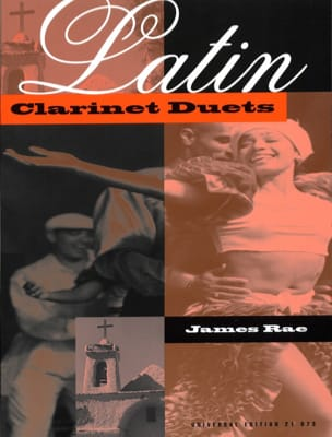 Latin Clarinet Duets James Rae Partition Clarinette - laflutedepan