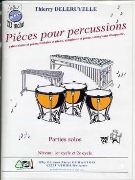 Pièces pour percussions Thierry Deleruyelle Partition laflutedepan