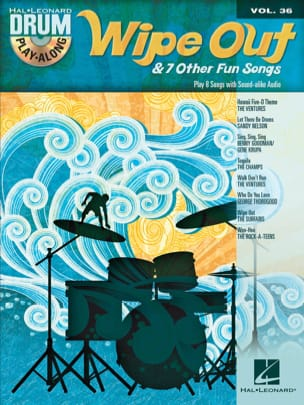 Drum Play-Along Volume 36 - Wipe Out & 7 Other Fun Songs laflutedepan