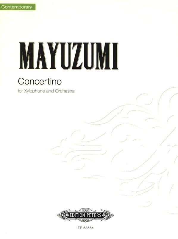 Concertino - Toshiro Mayuzumi - Partition - laflutedepan.com