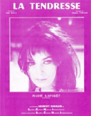 La Tendresse - Marie Laforêt - Partition - laflutedepan.com