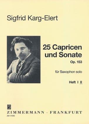 25 Capricen & Sonate Opus 153 - Volume 2 laflutedepan