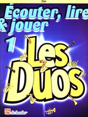 Ecouter Lire et Jouer - Les duos Volume 1 - 2 Cors laflutedepan
