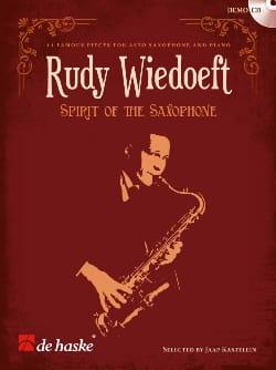 Spirit of the saxophone Rudy Wiedoeft Partition laflutedepan