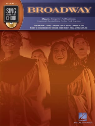 Sing With The Choir Volume 2 - Broadway Partition laflutedepan