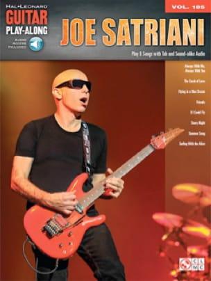 Guitar Play-Along Volume 185 Joe Satriani - laflutedepan.com