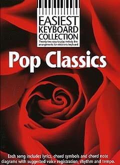 Easiest Keyboard Collection - Pop Classics - laflutedepan.com
