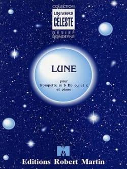 Lune Désiré Dondeyne Partition Trompette - laflutedepan