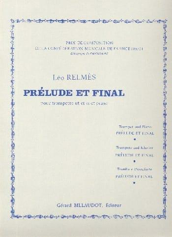 Prélude et Final - Léo Relmès - Partition - laflutedepan.com