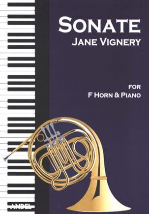Sonate opus 7 Jane Vignery Partition Cor - laflutedepan